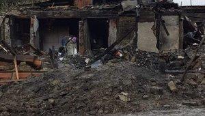 Bolu'da çıkan yangınında acı manzara... 2 çocuk birbirine sarılmış halde bulundu