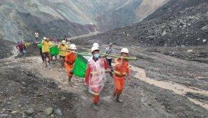 Myanmar'da meydana gelen heyelanda ölü sayısı 162'ye yükseldi