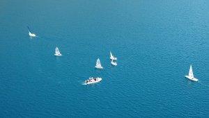 Nemrut'ta bisiklet ve trekking turu düzenlenip yelken gösterileri yapıldı