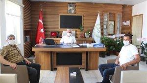 Önceki dönem Belediye Başkanı Can'dan İl Müftüsü Erhun'a ziyaret
