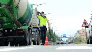 Ordu'da 586 araç sürücüsüne hız cezası