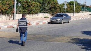 Otogar önünde unutulan bavul fünye ile patlatıldı