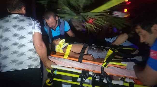 Korkunç kazada 5 kişi yaralandı... Perte çıkan araç, hamile kadına mezar oldu