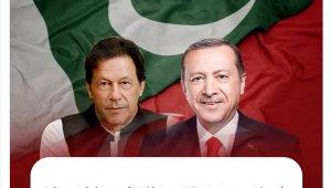 """Pakistan Başbakanı Khan'dan Erdoğan'a """"15 Temmuz Milli Birlik Günü"""" mesajı"""