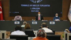 Pamukkale Belediye Meclisi 3 ay aradan sonra toplandı