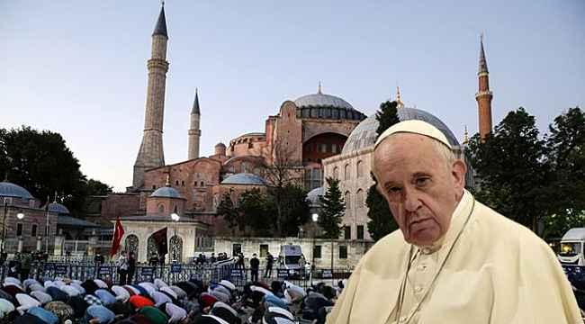 Papa'dan, Ayasofya'nın yeniden Camii olmasıyla ilgili ilk yorum