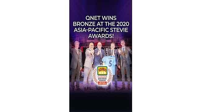 QNET'e, 2020 Asya-Pasifik Stevıe'den ödül