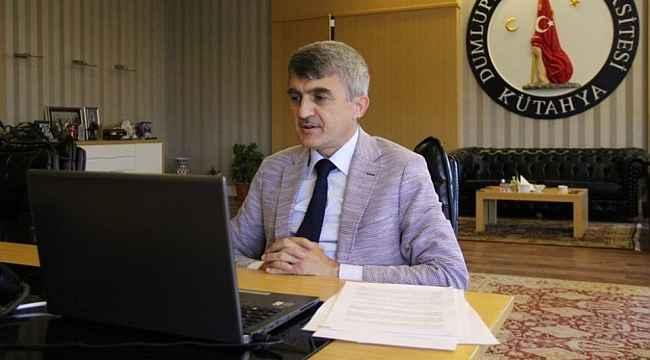 Rektör Kazım Uysal, 1 yıllık görev süresini değerlendirdi