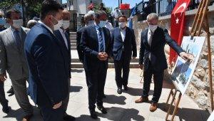 Restorasyon yapılan tarihi Hamidiye camisi açıldı