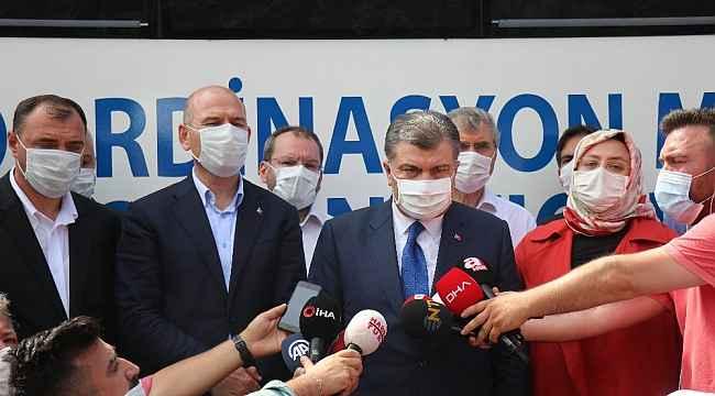 Sakarya'da meydana gelen patlamayla ilgili, Sağlık Bakanı Fahrettin Koca: