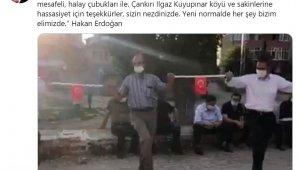 """Sağlık Bakanı Koca, """"Çankırı'dan örnek geldi"""" notuyla paylaştı"""