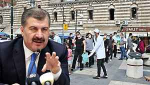Sağlık Bakanı Koca, vakaların artışa geçtiği 5 ili paylaştı