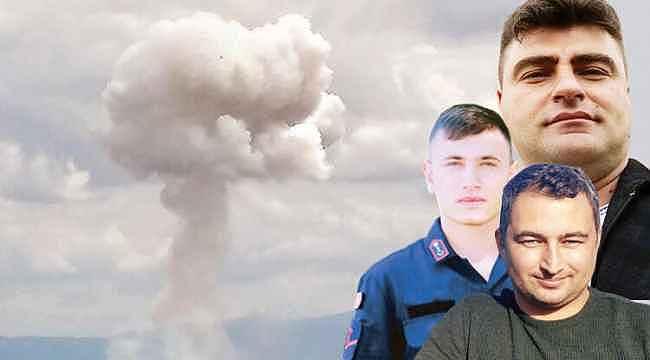 Sakarya'daki patlamayla ilgili Jandarma'dan açıklama geldi