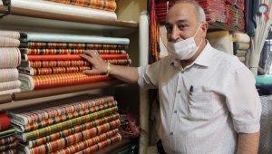 Saray kumaşı 'kutnu' ustaları taklit ürünlere karşı ayakta kalma savaşı veriyor