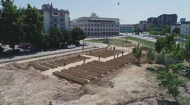Şehrin en değerli arazisini kent bostanı yaptılar - Bursa Haberleri