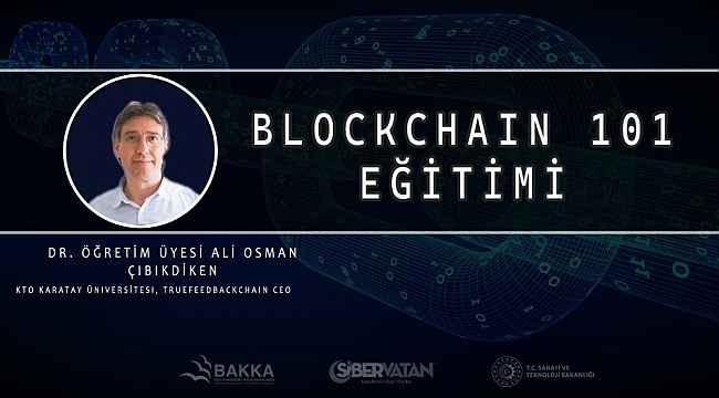 Siber vatan Blokzinciri eğitimi tamamlandı