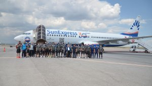 Sivasspor, İstanbul'a gitti