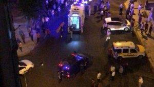 Sokak ortasında silahlı saldırıya uğradı