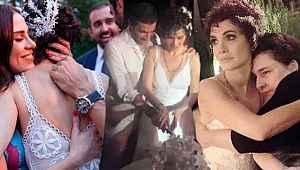 Songül Öden ile Arman Bıçakçı'nın nikahına ünlü akını