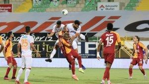 Süper Lig: Aytemiz Alanyaspor: 2 - Galatasaray: 1