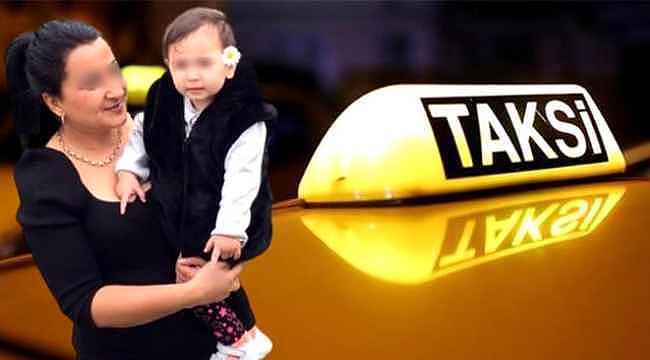 Taksici skandalları bitmiyor... Bebeği taksiye kusan müşteriden 400 TL istedi