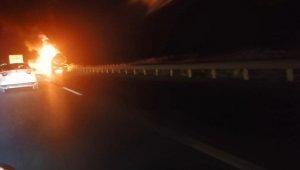 Tanker alev alev yandı - Bursa Haberleri