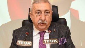 TESK Genel Başkanı Palandöken'den yeniden yapılandırılan kredilere ilişkin açıklama