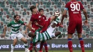 TFF 1. Lig: Bursaspor: 0 - Altınordu: 0