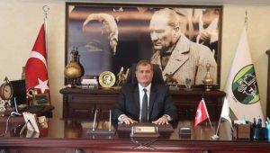 """Tire'de başkanlık makamında """"böcek"""" bulundu"""