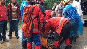 Trabzon'da mahsur kalan 24 kişi kurtarıldı