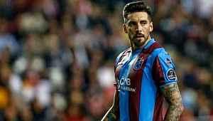 Trabzonspor'da bir kötü haber de Jose Sosa'dan