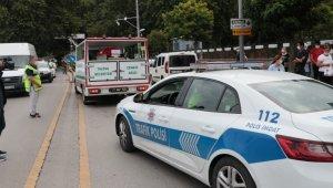 Trafik kazasında ölen polis memuru için tören düzenlendi