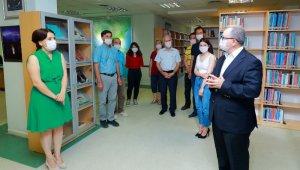 """Trakya Üniversitesi Merkez Kütüphanesinden önemli bir hizmet: """"Balkan Kitaplığı"""" hizmete açıldı"""
