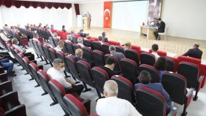 Tunceli'de İl Koordinasyon Kurulu Toplantısı
