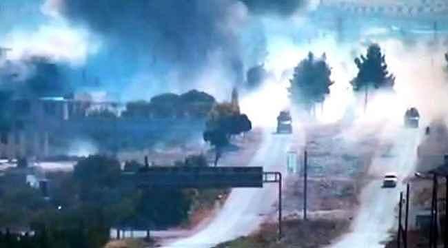 Türk-Rus ortak devriyesine bombalı saldırı! 3 Rus asker yaralandı