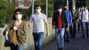 Türkiye'deki vakaların yüzde 53'ünün tespit edildiği İstanbul'da 8 ilçe alarm veriyor