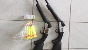 Uyuşturucu iğne atan tüfeklerle hayvan hırsızlığı
