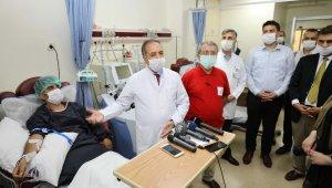 Vaka sayısının arttığı Gaziantep'e plazma üretim sistemi kuruldu