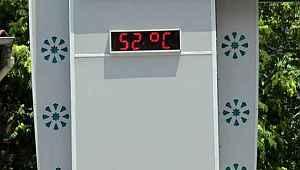 Vakaların en çok arttığı ilde 52 derece sıcaklık bile vatandaşı evde tutamadı