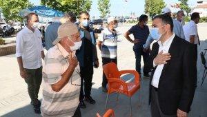 Vali Atay Akçakoca'da ziyaretlerde bulundu