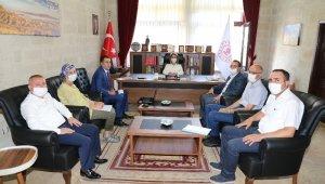 Vali Becel, İl Kültür ve Turizm Müdürlüğünü ziyaret etti