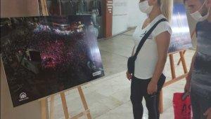Van Büyükşehir Belediyesinden '15 Temmuz' konulu fotoğraf sergisi