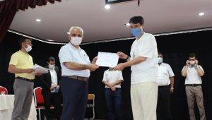 Vefa Sosyal Destek Gurubunda görev yapan din görevlilerine başarı belgesi