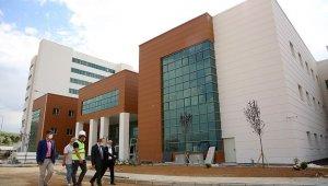 Yeni devlet hastanesi çalışmalarında son aşamaya gelindi