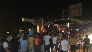 Yeni Malatyaspor'a coşkulu karşılama