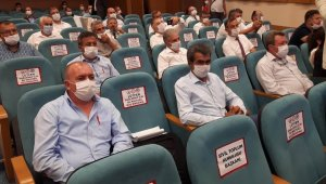 Ziraat odası başkanları sorunlarını Bakan Pakdemirli'ye iletti