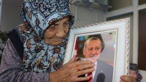 112 yaşındaki Güllü nineden Erdoğan sevgisi