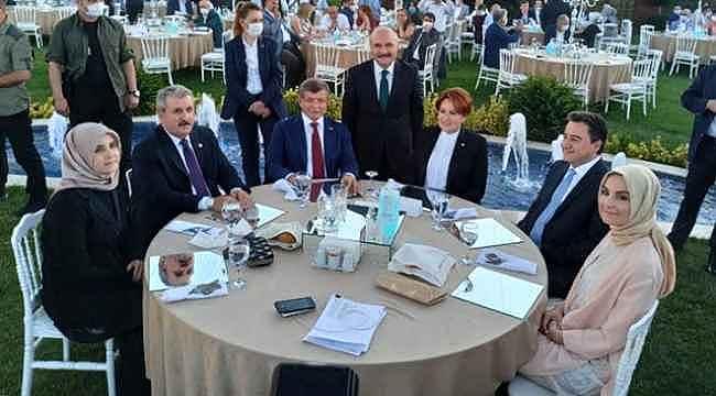 4 genel başkan, MHP'den ihraç edilen ismin kızının nikah töreninde bir araya geldi