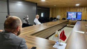 81 il başkanı video konferans sistemiyle bağlandı