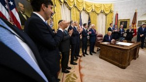 ABD Başkanı Trump, İsrail-BAE anlaşmasını duyurdu